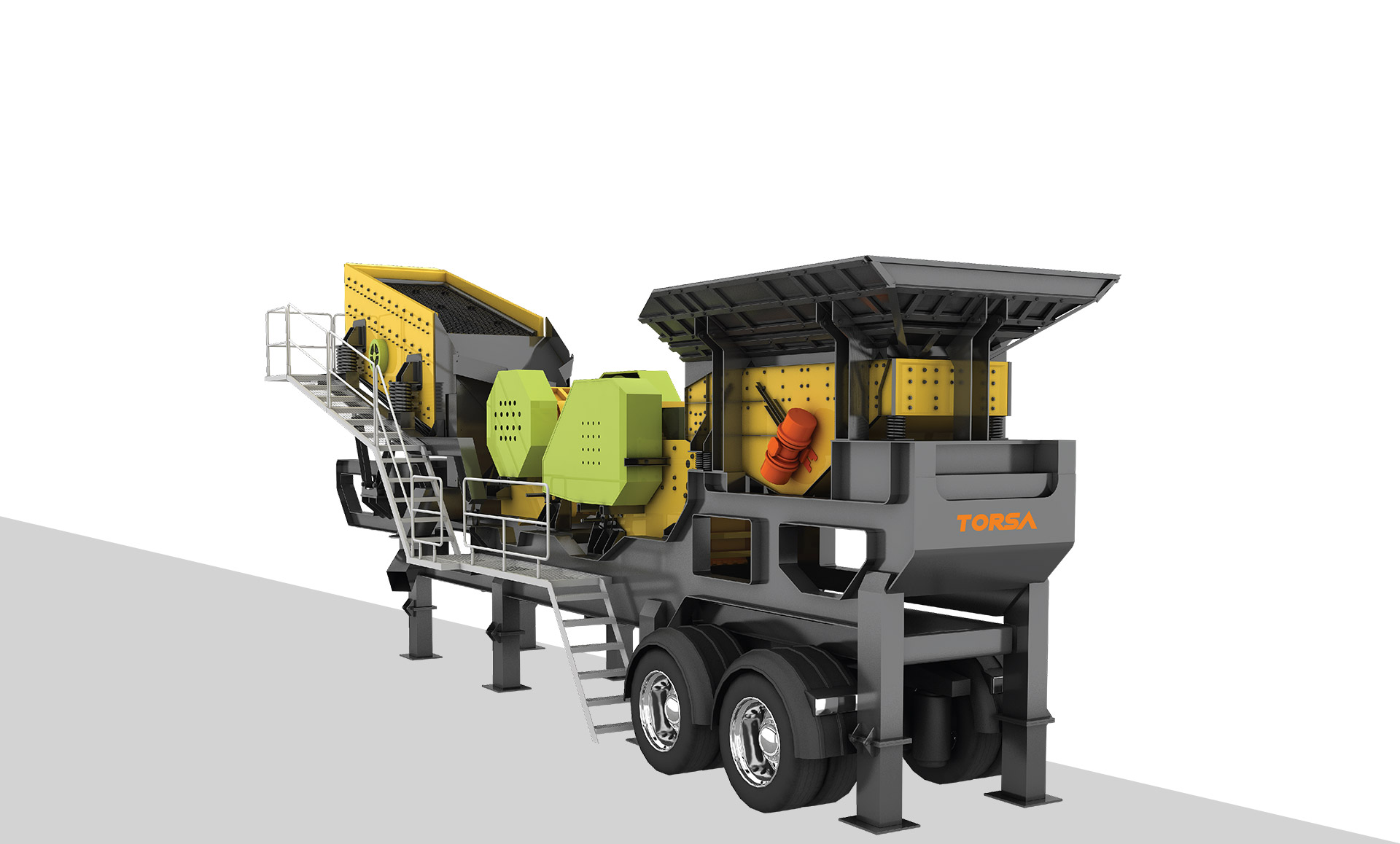 Machinery for Rock & Mineral Processing Industry | crusher plant | Torsa